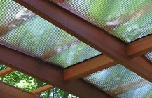 Glass Canopies </br> Glass Awnings