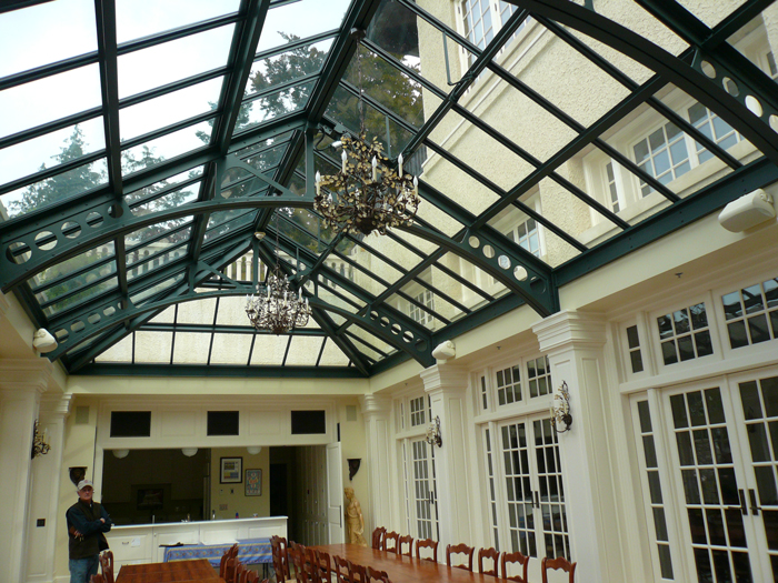 Architectural Glass Skylights