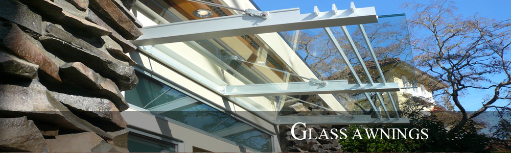 Glass Awnings – Slide